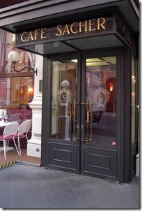 Cafe w hotelu Sacher