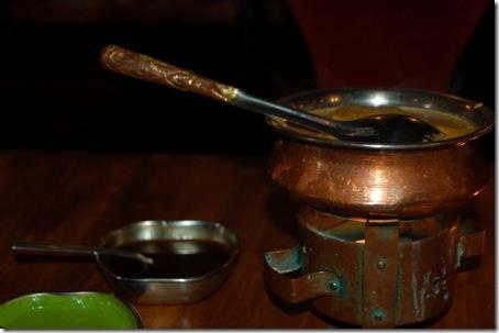 Masala z kurczaka i sos tamaryndowy